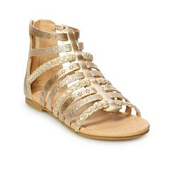 SO® Beach Ball Girls' Gladiator Sandals