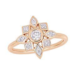 Stella Grace 10k Rose Gold 1/3 Carat T.W. Diamond Ring