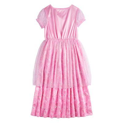 Disney Princess Girls 4-8 Ariel, Belle, Cinderella & Rapunzel Fantasy Gown Nightgown