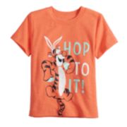 "Disney's Winnie The Pooh Baby Boy Tigger ""Hop To It"" Easter Graphic Tee by Jumping Beans®"