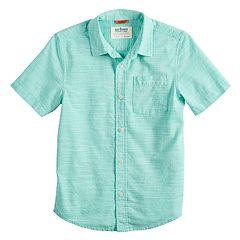 Boys 8-20 Urban Pipeline® Poplin Button-Down Shirt