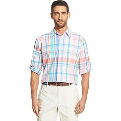 Men's IZOD Saltwater Dockside Classic-Fit Chambray Button-Down Shirt