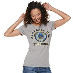 Juniors' Riverdale High School Bulldogs Tee