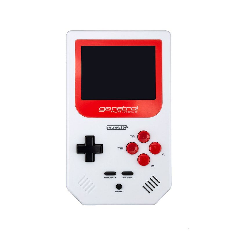 Go Retro Portable Handheld Gaming Device, White Enjoy some vintage entertainment with this Go Retro portable handheld gaming device. Portable hand held system featuring Tetris plus over 250 Retro inspired games with officially licensed titles from Capcom and Data East Up to 10 hours of non-stop gameplay Requires four AAA batteries (not included) Display: 2.8-in. high resolution screen Connections: 3.5mm headphone jack For information about the modified return policy, please click here Model no. 849172009912 Size: One Size. Color: White. Gender: unisex. Age Group: adult.