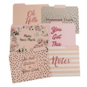 LC Lauren Conrad File Folders Set