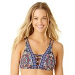 Women's Cole of California Strappy Bikini Top