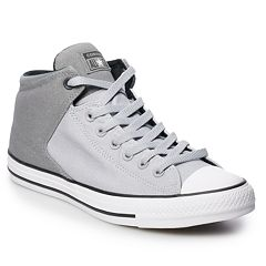 dc543915a3ca80 Men s Converse Chuck Taylor All Star High Street High Top Shoes. Wolf Gray  ...