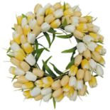 SONOMA Goods for Life? Artificial Yellow Tulip Wreath