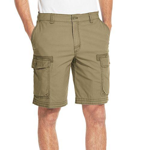 1e636070b7 Men's IZOD Saltwater Classic-Fit Stretch Cargo Shorts