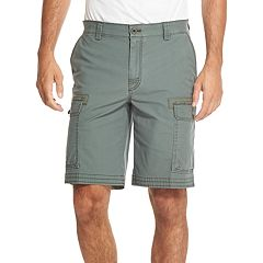 Men's IZOD Saltwater Classic-Fit Stretch Cargo Shorts