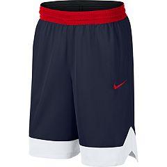 a4004aea70 Big & Tall Nike Dri-FIT Icon Basketball Shorts. College Navy White Black  White University Red Black