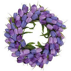 SONOMA Goods for Life™ Artificial Purple Tulip Wreath