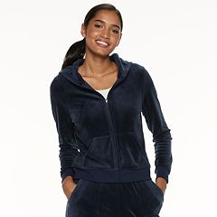 Women s Juicy Couture Graphic Velour Hoodie ec38b4b2d