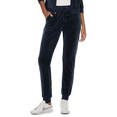 Women's Juicy Couture Solid Velour Jogger Pants