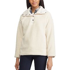 Women's Chaps Faux-Shearling 1/2-Zip Jacket