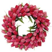 SONOMA Goods for Life? Artificial Red & Pink Tulip Wreath