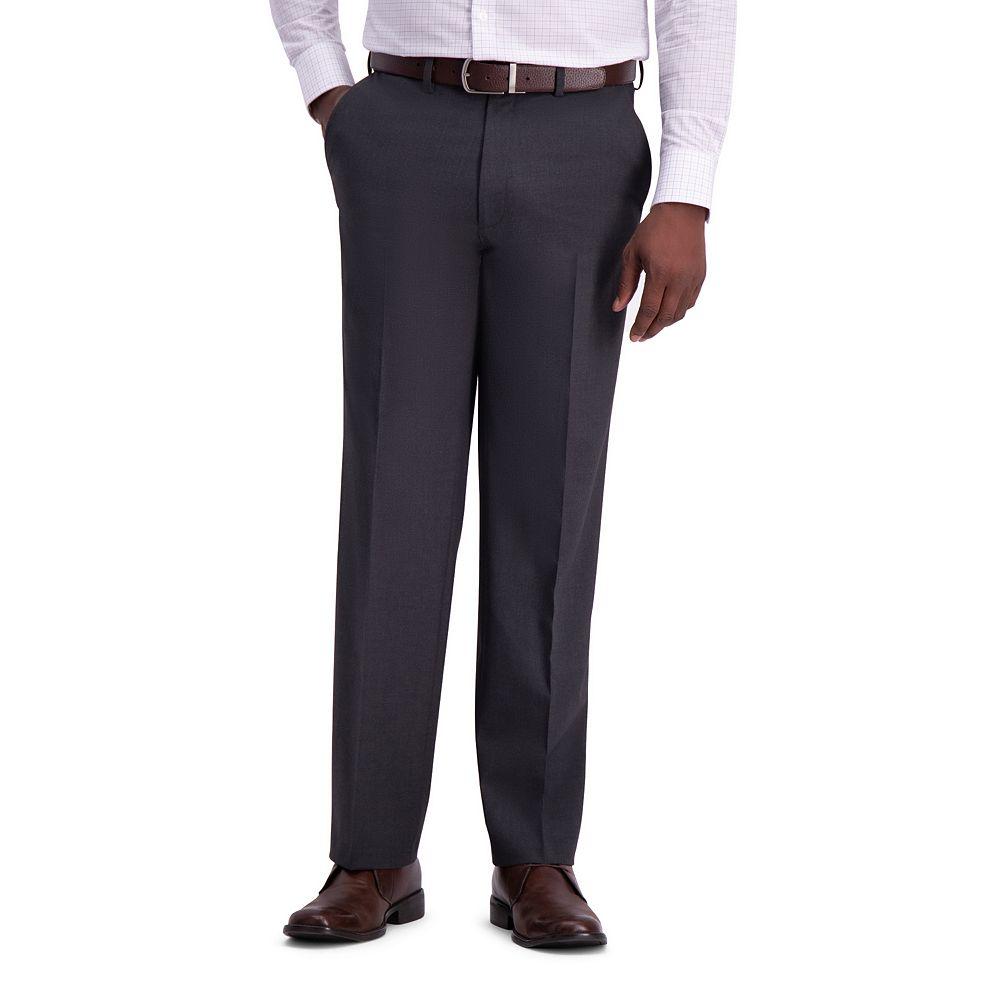 Men's J.M. Haggar Premium 4-Way Stretch Classic-Fit Flat-Front Suit Pants