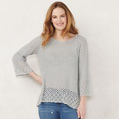 5da549589015 Womens LC Lauren Conrad Sweaters - Tops, Clothing | Kohl's