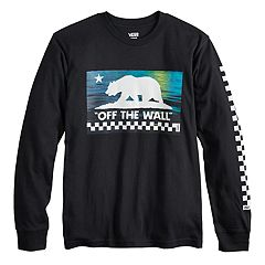 Boys 8-20 Vans Sunset Bear Tee