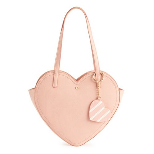 LC Lauren Conrad Heart Tote Bag