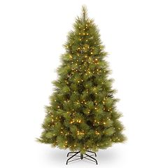 National Tree Co. 7.5 ft Arcadia Pine Hinged Artificial Christmas Tree with 650 Clear Lights
