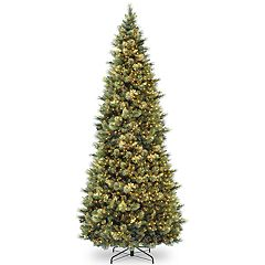 National Tree Co. 4.5 ft. Slim Spruce with LED Lights