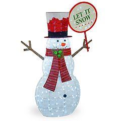 National Christmas Tree 66' Pre-Lit Snowman Floor Decor