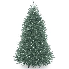 National Tree Co. 6.5 ft. Dunhill Blue Fir Artificial Christmas Tree with Clear Lights