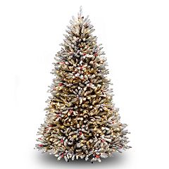 National Tree Co. 7.5 ft. Dunhill Fir Artificial Christmas Tree with Clear Lights