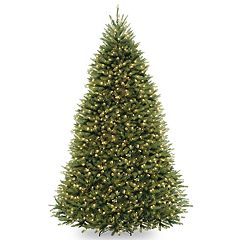 National Tree Co. 9 ft. Dunhill Fir Artificial Christmas Tree with Clear Lights