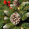 National Christmas Tree Pre-Lit Frosted Berry Decor Assortment