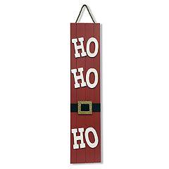 National Christmas Tree 28' Ho Ho Ho Wall Art