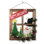 """National Christmas Tree 15"""" Holiday Wall Art"""