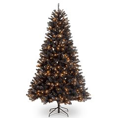 National Tree Co. 7 ft. North Valley Black Spruce Artificial Christmas Tree with Clear Lights