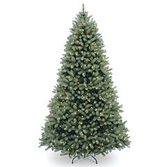 National Tree Co. 6.5 ft. Downswept Douglas Blue Fir Artificial Christmas Tree with Clear Lights