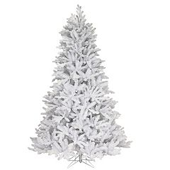 National Tree Co. 7.5 ft. Madison White Fir Artificial Christmas Tree with Clear Lights