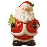 "National Christmas Tree 10"" Santa Claus Cookie Jar"