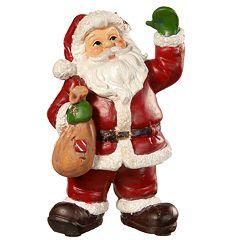 National Christmas Tree 8' Santa Figurine Table Decor