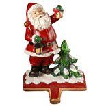 "National Christmas Tree 6.5"" Santa Stocking Holder"