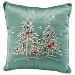 """National Christmas Tree 16"""" Christmas Trees Pillow"""