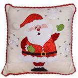"National Christmas Tree 16"" Santa Pillow"