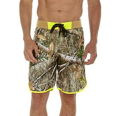 2d383adddb Men's Realtree Camo 9-inch E-Board Swim Shorts