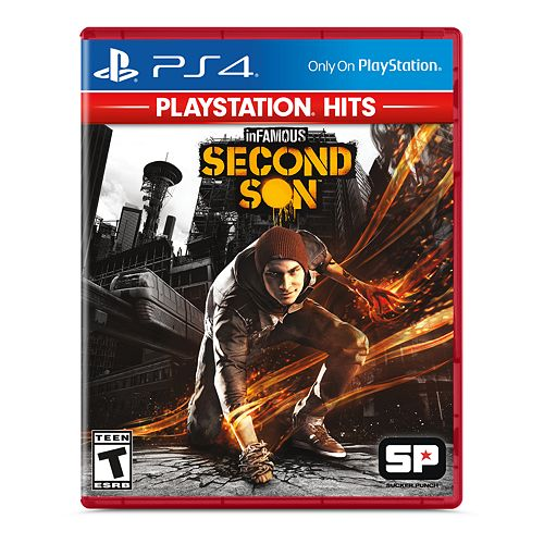 Infamous: Second Son Hits for PS4