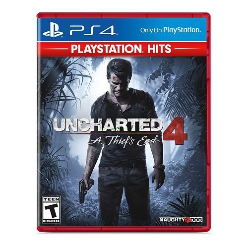 Uncharted 4: A Thief's End for PS4