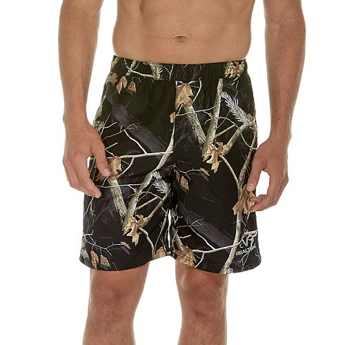 a615f08f21 Men's Realtree Leaf 9-inch E-Board Swim Shorts