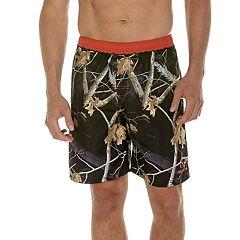 Men's Realtree Leaf 9-inch E-Board Swim Shorts