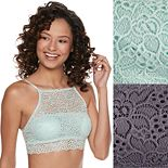 Juniors' Wallflower 2-pack Squareneck Bralette