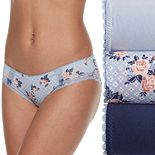 Wallflower 3-Pack Eva Lace Hipster JC4010WFB