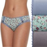 Wallflower 3-Pack Eva Lace Hipster JC4010WFC