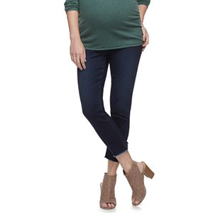 1421c6a1375cb Maternity a:glow Full Belly Panel Skinny Ponte Pants
